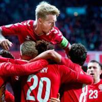 Qatar World Cup: Denmark move to within touching distance of FIFA World Cup 2022 in Scotland's group after beating Israel