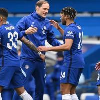 Chelsea Vs Tottenham Hotspur - Chelsea Quartet Premier League Football Team of the Week