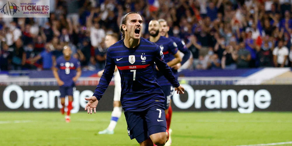 France Football World Cup: Antoine Griezmann equals Michel Platini's score, becoming the third joint all-time scorer for France