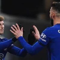 Chelsea Vs Brentford - Former Chelsea Striker Olivier Giroud Praises Timo Werner