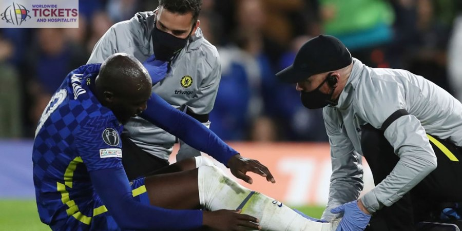Chelsea vs Malmo Tickets: Romelu Lukaku hobbles down the tunnel with first-half injury as Blues romp to victory